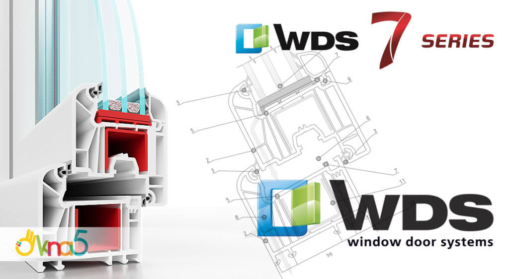 Пластиковые окна WDS 7 series в Киеве и пригороде - фирма