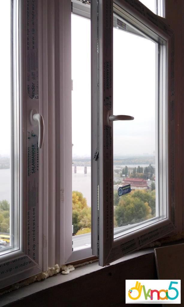 """Купить окна Саламандер """"Окна 5"""""""