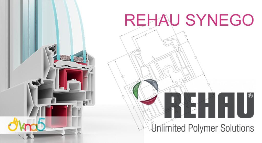 Пластиковые окна Rehau Synego - фирма