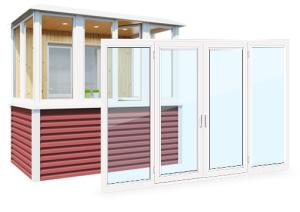 Пластиковые балконы и лоджии НЕДОРОГО в компании OKna5