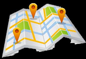 Карта доставки продукции
