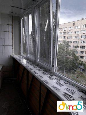 Балкон с выносом в Киеве