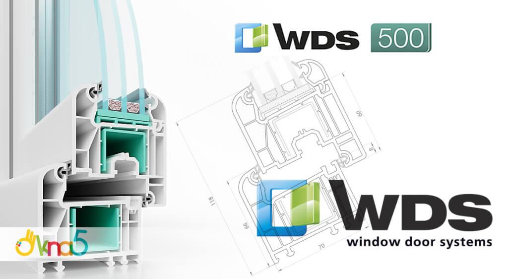 металлопластиковые окна WDS Киев