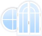 нестандартные окна из ПВХ от - Okna5