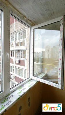 """Вікна Рехау від компанії """"Окна 5"""""""