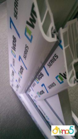 """Вікна WDS 7 серії компанія """"ОКНА 5"""""""