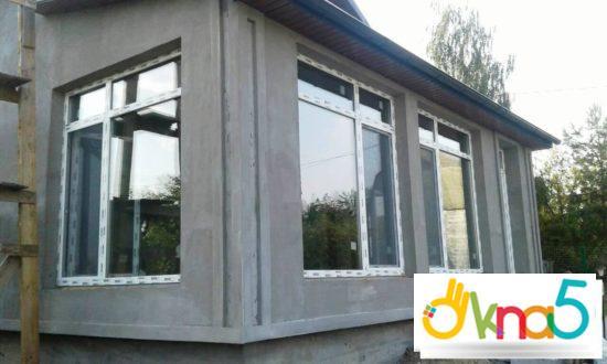 пластиковые окна в коттедж - Okna5