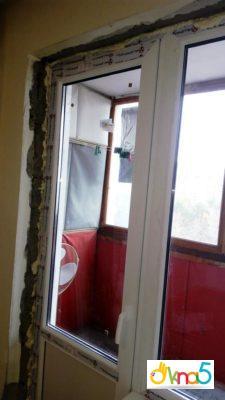 """Балконний блок від компанії """"Окна 5"""""""