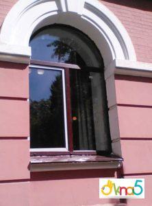 арочные пластиковые окна - Okna5
