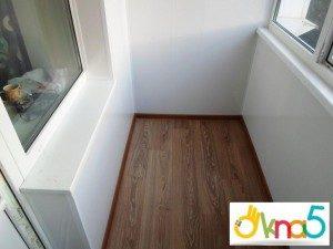 Внутренняя обшивка балкона вагонкой - Okna5