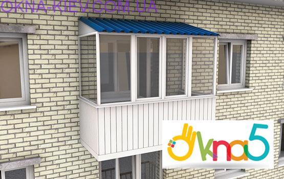балкон под ключ - Okna5