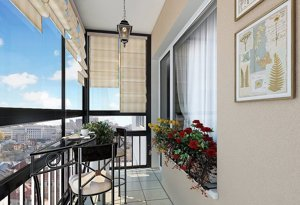 французский балкон в киеве - Okna5