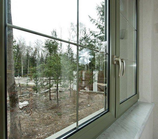 пластиковые окна со шпросами - Okna5