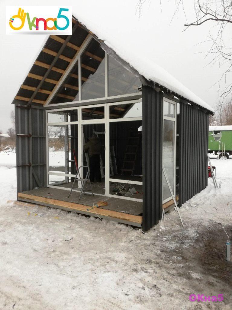 Вибрати металопластикові вікна в будинок - фото роботи ОКна 5
