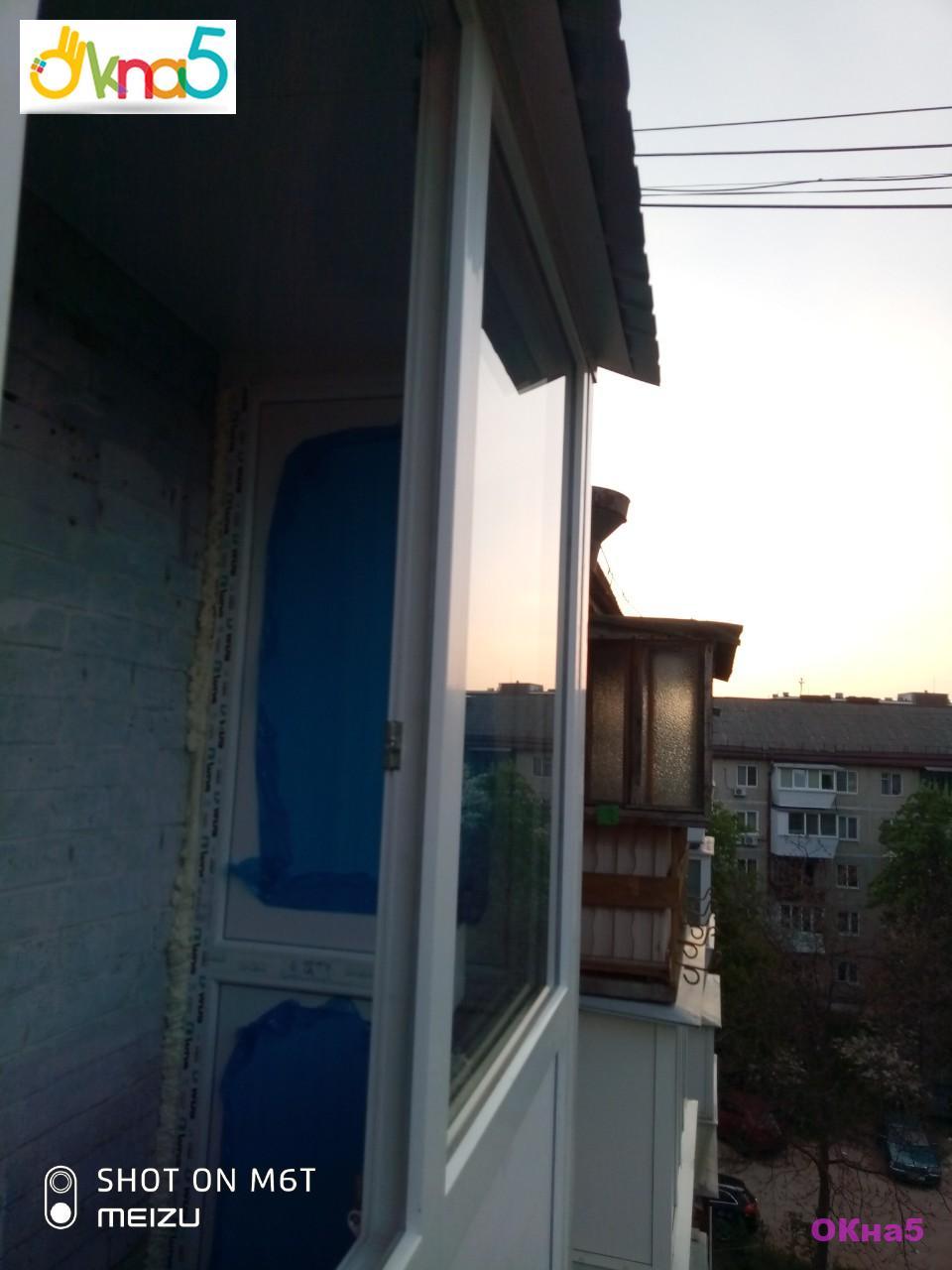 Французское остекление балконов - фото бригады №19
