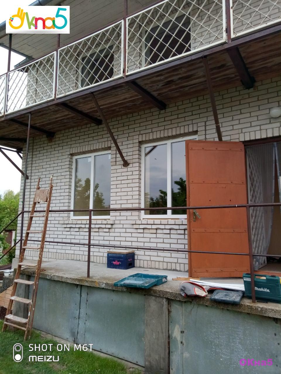 Пластиковые окна на дачу с.Иванковичи - фото бригады №9