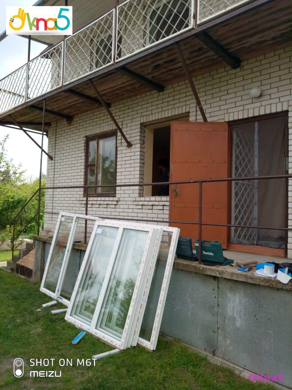 Металлопластиковые окна на дачу - бригада 9