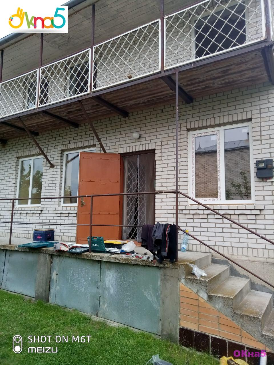 Установка пластиковых окон на даче с. Иванковичи