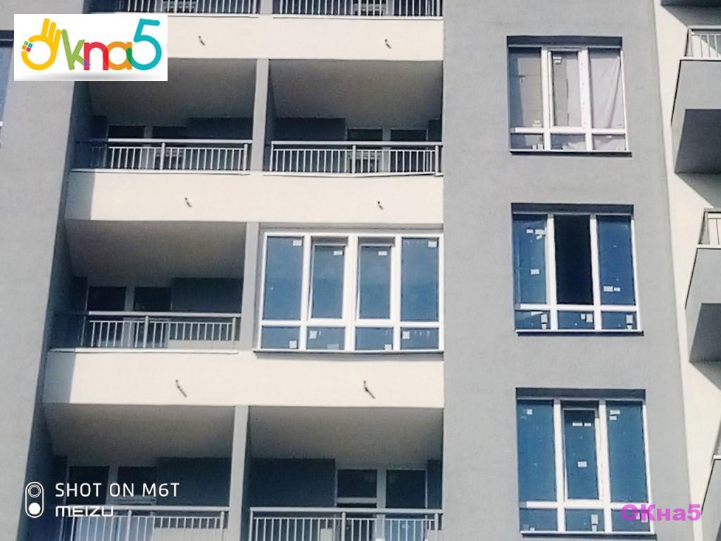"""Остекление балконов, лоджий в ЖК Каховская - компания """"ОКна 5"""""""