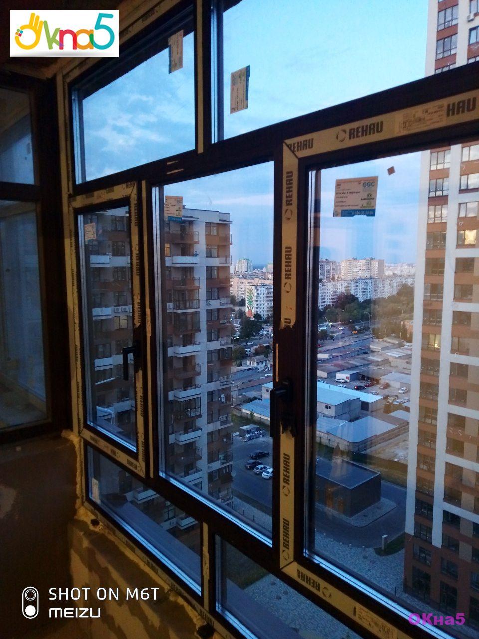 Остекление балкона ЖК Варшавский Микрорайон - бригада 4