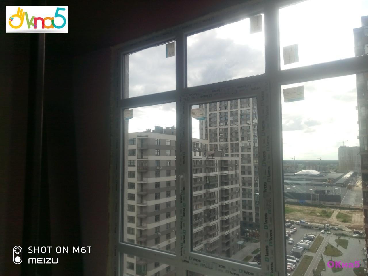 Остекление балконов в ЖК Варшавский Микрорайон профилем WDS - фото ОКна5