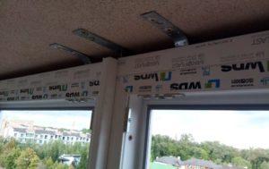монтаж французского балкона