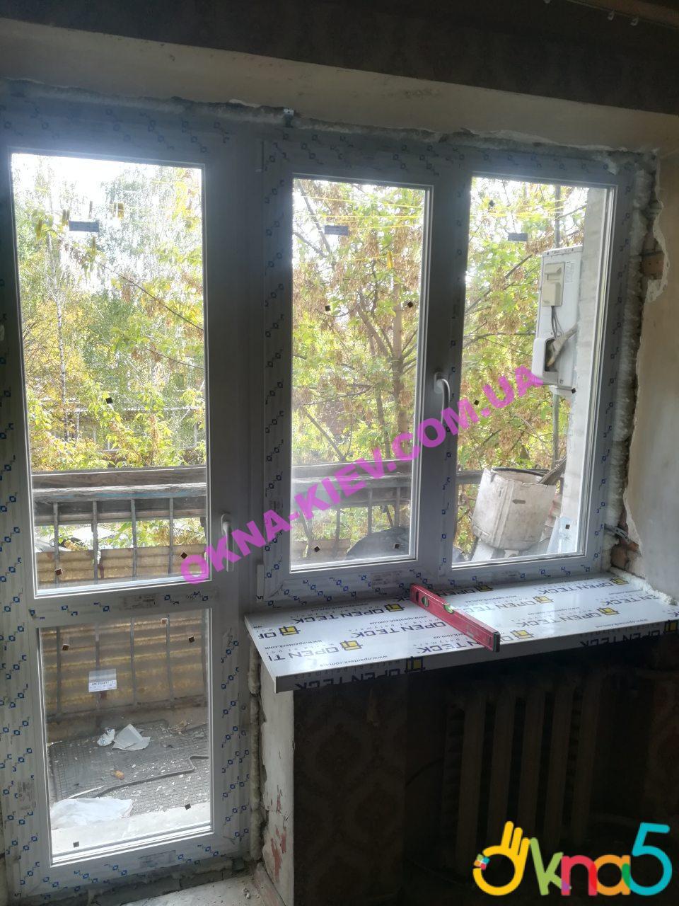 Балконный блок в Киеве с установкой от ™ОКна 5