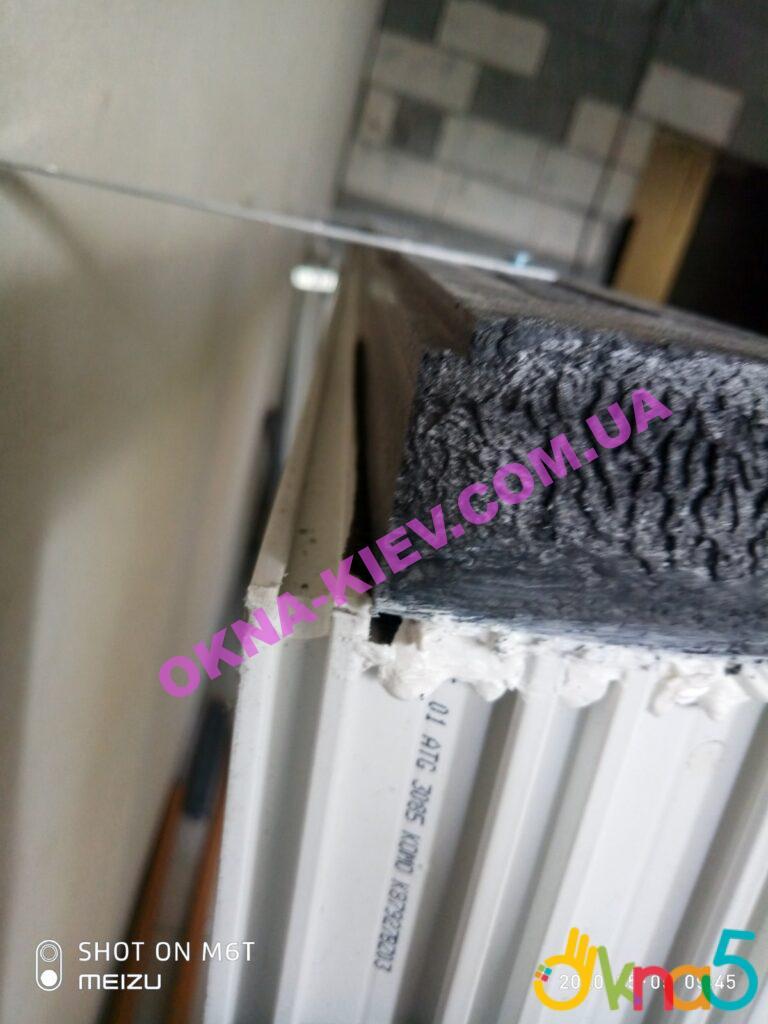 Окна пластиковые окна salamander bluevolution с теплым подставочным профилем фото компании ОКна 5