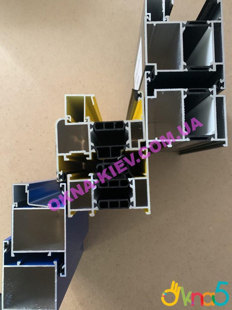Алюминиевые двери - варианты профилей от ОКна 5