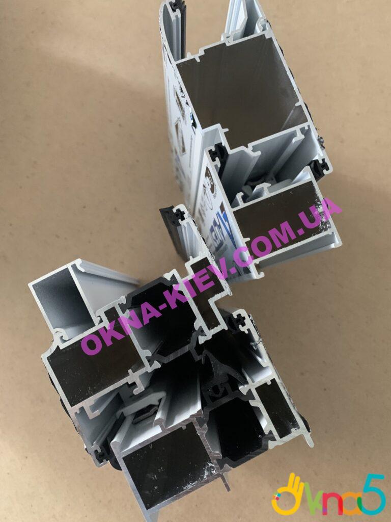 Алюмінієві двері - варіанти профілів від ОКна5